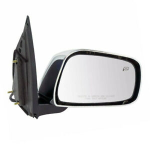 Fits 11 18 Frontier Sl Pickup Truck Rear View Mirror Assembly Power Right Side
