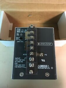 Lambda Lus 11 24 Power Supply 24 V Dc New