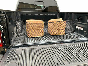 Truck Bed Envelope Style Trunk Mesh Cargo Net For Toyota Tacoma 2005 2020 New