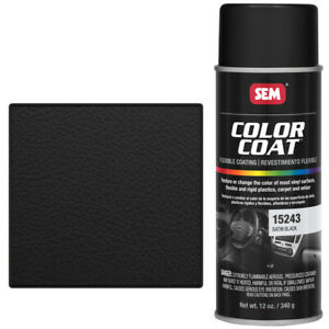 Sem 15243 Satin Black Color Coat Vinyl Paint