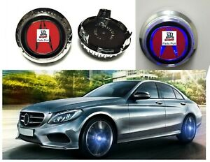 4x Wheel Center Caps Covers For Acura Self Powered Flashing Led Light Dia 69 Mm