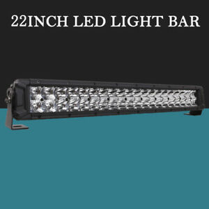22 Inch Led Light Bar Flood Spot Combo Hima4x4 Driving Truck Suv For Jeep Ford