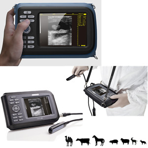 Veterinary Handheld Machine Ultrasound Scanner Cow horse animal rectal Probe A