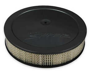 Holley Sniper Efi 120 531 Sniper Air Cleaner Assembly 14 X 3 Black Finish