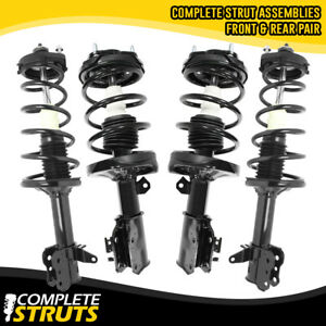 02 03 Mazda Protege5 Front Rear Quick Complete Struts Coil Spring Assemblies