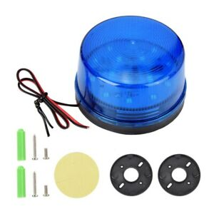 Led Car Strobe Beacon Emergency Alarm Warning Flashing Light Signal Lamp Dc 12v