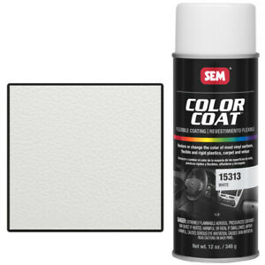Sem 15313 White Color Coat Vinyl Paint