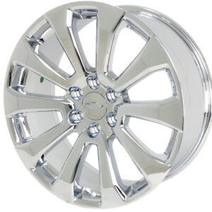 22 Chrome Chevy Silverado High Country Wheels Rims Tahoe Suburban Gmc Sierra