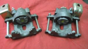1979 1980 1981 Firebird Trans Am Formula Rebuilt Rear Calipers W Levers