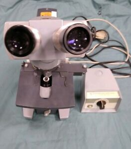 American Optical Series 10 Microscope Spencer 4 Objectives