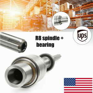 Fit Bridgeport Milling Machine Parts R8 Spindle Bearings Assembly 1set Usstock