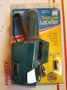 New Garvey Two line Price Gun Labeler 22 88