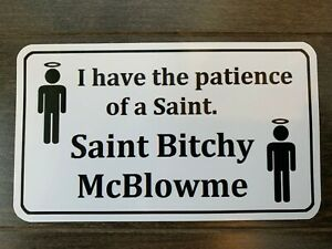 Patience Of A Saint Tool Box Sticker Gold Must Have Mac Snapon Dewalt