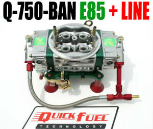 Quick Fuel Q 750 e85 Ban Annular Mech Blow Thru With 6 Line Kit In Stock Now