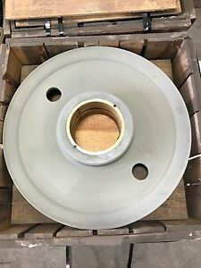 Crane Wire Rope Fleeting Sheave 30 Od 1 1 8 Wire 8 Id Bushing Nos