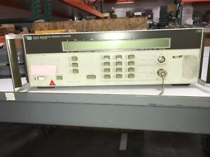 Working Hp 5350a Microwave Frequency Counter