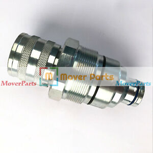 1 2 hydraulic Female Flat Face Quick Coupler For Case Track Skid Steer Loaders