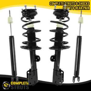 2011 2013 Ford Explorer 4wd Front Quick Complete Struts Rear Shock Absorbers