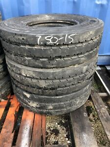 7 00r15 Continental Veloctiy V20 14pr Used Tire Industrial