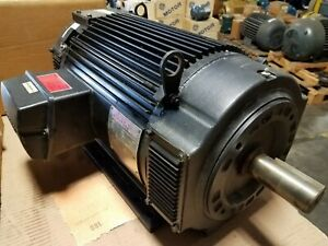 New Powertec 20 Hp Dc Brushless Motor 2500 Rpm 640 Volt 1 5 8 Shaft