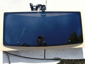 84 88 Pontiac Fiero Sunroof Moon Roof Glass Window W Latch Mount
