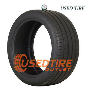 Used 2853519 285 38 19 Michelin Pilot Super Sport Zp 99y Tire 9 32nds