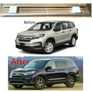 For 16 20 Honda Pilot Oe Style Roof Rack Side Rails Bar 2 Pieces Set