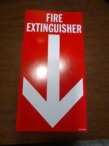 Magnetic Fire Extinguisher Sign