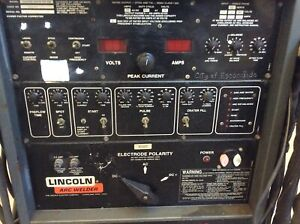Lincoln Arc Welder Square Wave Tig 300