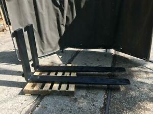 Class Iv 4 60 Forks 2 X 5 75 X 60 Cl4 Pair 5ft Set Forklift