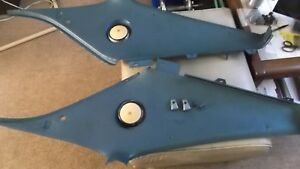 1968 1969 1970 Amc Javelin Interior Sail Panels Blue Left And Right