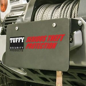 Tuffy Security Products 333 01 Flip Up License Plate Holder
