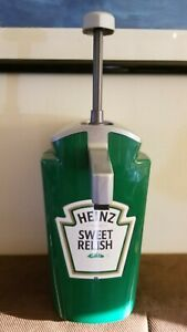 Asept Sweet Relish Counter Top Condiment Dispenser Heinz Commercial Hand Pump