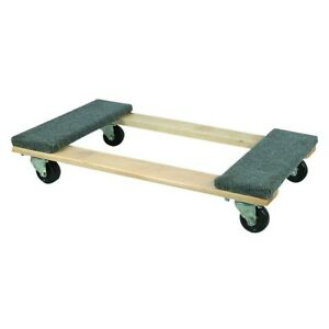 Moving Dolly 30 In X 18 In 1000 Lb Capacity Hardwood Dolly
