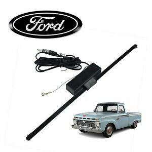 1961 66 Ford F 100 Truck Hidden Amplified Radio Antenna Fm Stereo Fe 300 Fwd 352