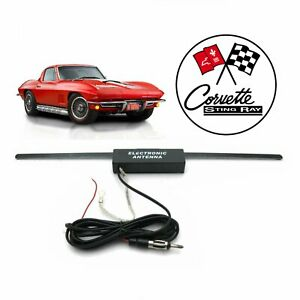 Chevy Corvette Hidden Amplified Radio Antenna Fm Stereo Z07 Lt1 Lt4 Gm 327 Ls C1