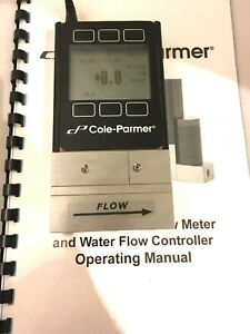 Cole palmer 32908 45 Precision Water Flow Meter Liquid