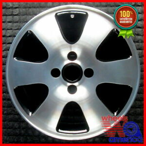 Wheel Rim Ford Focus 16 2000 2003 1s4z1007ba Ys4z1007fa Ys4z1007ga Black Oe 3438