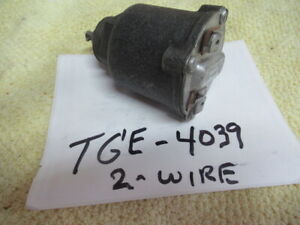 Tge 4039 3 Speed R10 Overdrive Govenor 2 Wire