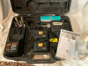 Uponor Wirsbo Propex 100 Cordless Expander Tool 4 Heads 2 Batteries Charger