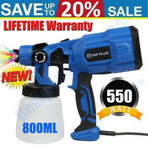 Paint Sprayer Gun Airless Wagner Electric 550w Auto Outdoor Wall Handheld Spray