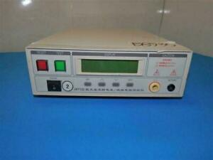 Jb7122 Ac dc High Voltage Insulation Resistance Tester