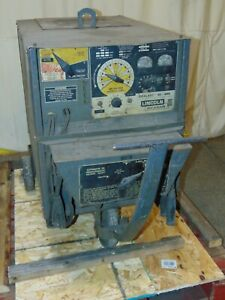 Lincoln Electric Idealarc Dc 400 Arc Welder 400 Amp Power Supply 100 Duty Cycle