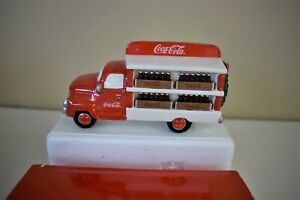 Dept 56 COCA COLA DELIVERY TRUCK - Snow Village -  #54798  (r120)
