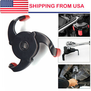Universal Oil Filter Wrench Removal Tool Fully Adjustable Heavy Duty Us