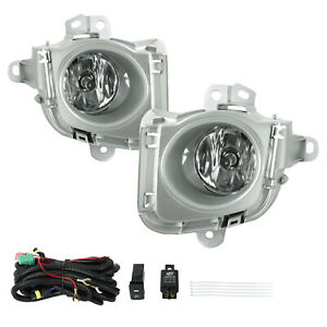For 2010 2011 Toyota Prius Front Bumper Fog Lights Driving Lamp W Wiring Switch