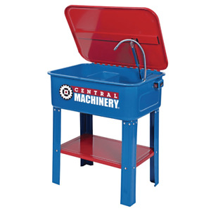 Central Machinery 20 Gallon Parts Cleaner Washer With Electric Pump Tool No Ship