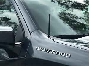 7 Short Black Antenna Mast Radio Am fm For Chevy Silverado 2006 2021 Brand New