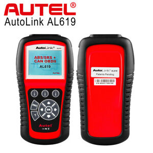 Autel Al619 Obd2 Can Auto Diagnostic Tool Srs Abs Code Reader Scanner Ford Gm Vw