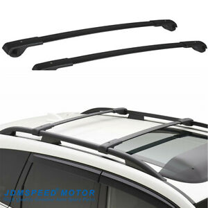 Set 2 Cross Bar Roof Rack Carrier Fit 14 19 Subaru Forester Crosstrek Impreza